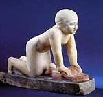 Kornmahlende Dienerin, Ägypten, um 2450 v. Chr. (Replik)